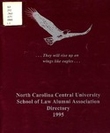 1995 Alumni Directory by North Carolina Central University School of Law