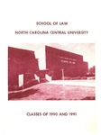 Classes of 1990-1991 by North Carolina Central School of Law