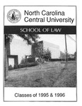 Classes of 1995-1996 by North Carolina Central School of Law