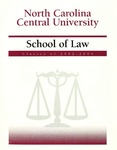 Classes of 2002-2003 by North Carolina Central School of Law