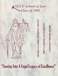 2001 Graduation Souvenir Book