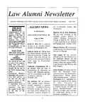 Law Alumni Newsletter | Fall 1993 by North Carolina Central University School of Law