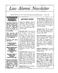 Law Alumni Newsletter | Winter 1994 by North Carolina Central University School of Law