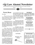 Law Alumni Newsletter | March 1995 by North Carolina Central University School of Law