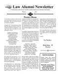Law Alumni Newsletter | October 1995 by North Carolina Central University School of Law