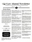 Law Alumni Newsletter | January 1996 by North Carolina Central University School of Law