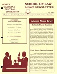 Law Alumni Newsletter | June 1998 by North Carolina Central University School of Law