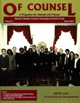 Of Counsel, Volume 5 | Spring 2001