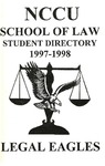 1997-1998 Student Directory by North Carolina Central University School of Law