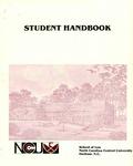 1982 Student Handbook by North Carolina Central University School of Law